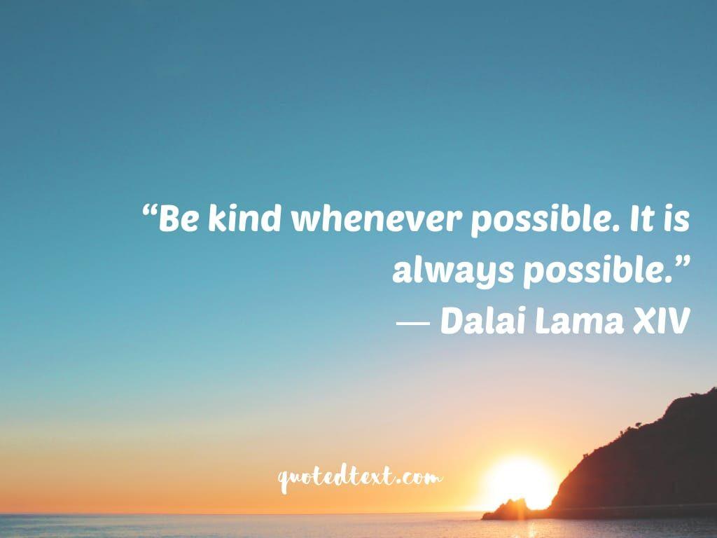 dalai lama quotes on be kind