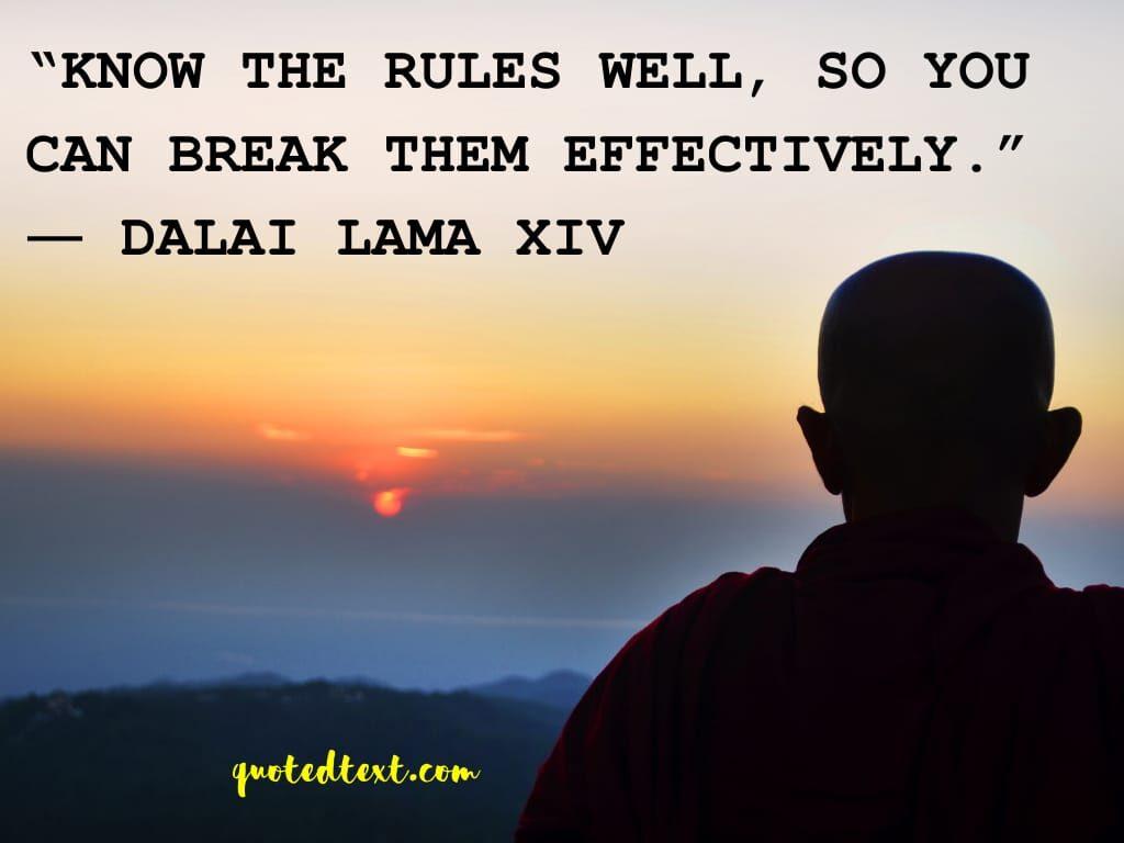 rules dalai lama quotes