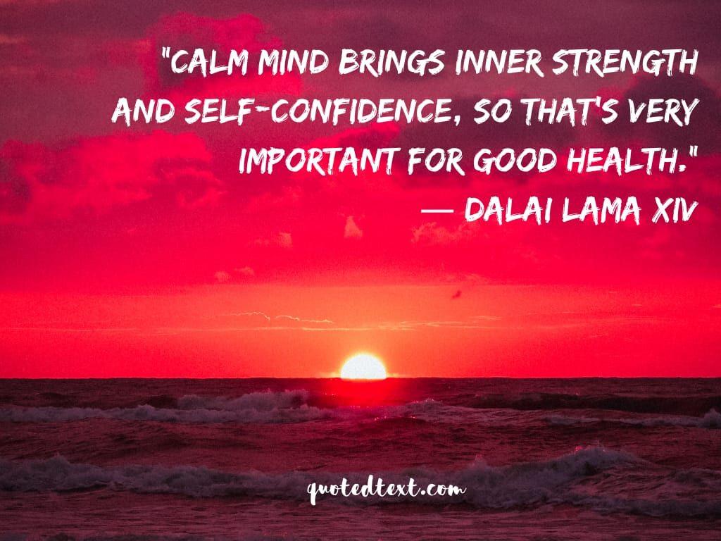 calmness dalai lama quotes