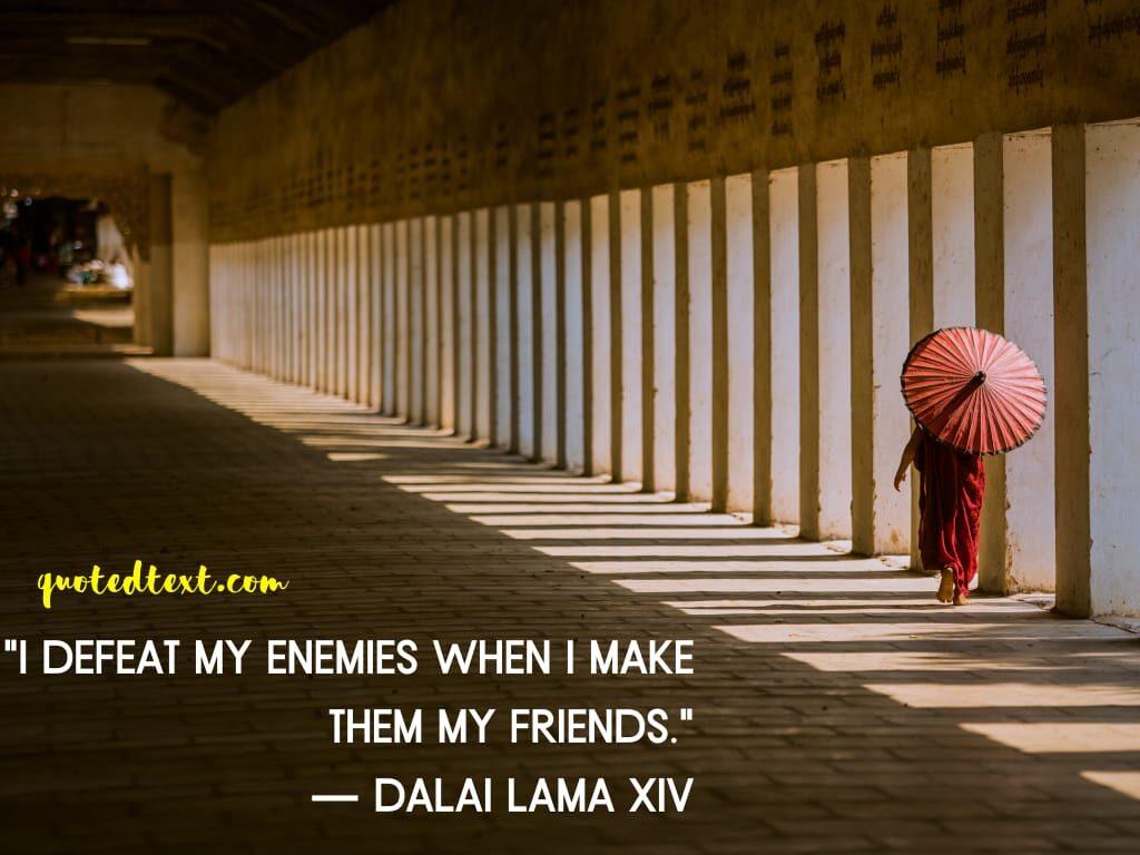 defeat dalai lama quotes