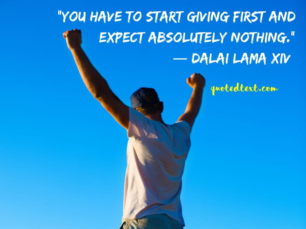 giving quotes by dalai lama