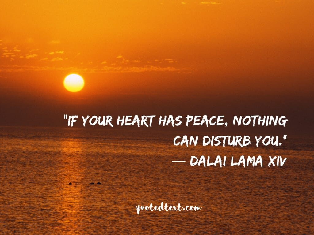 dalai lama quotes on heart and peace