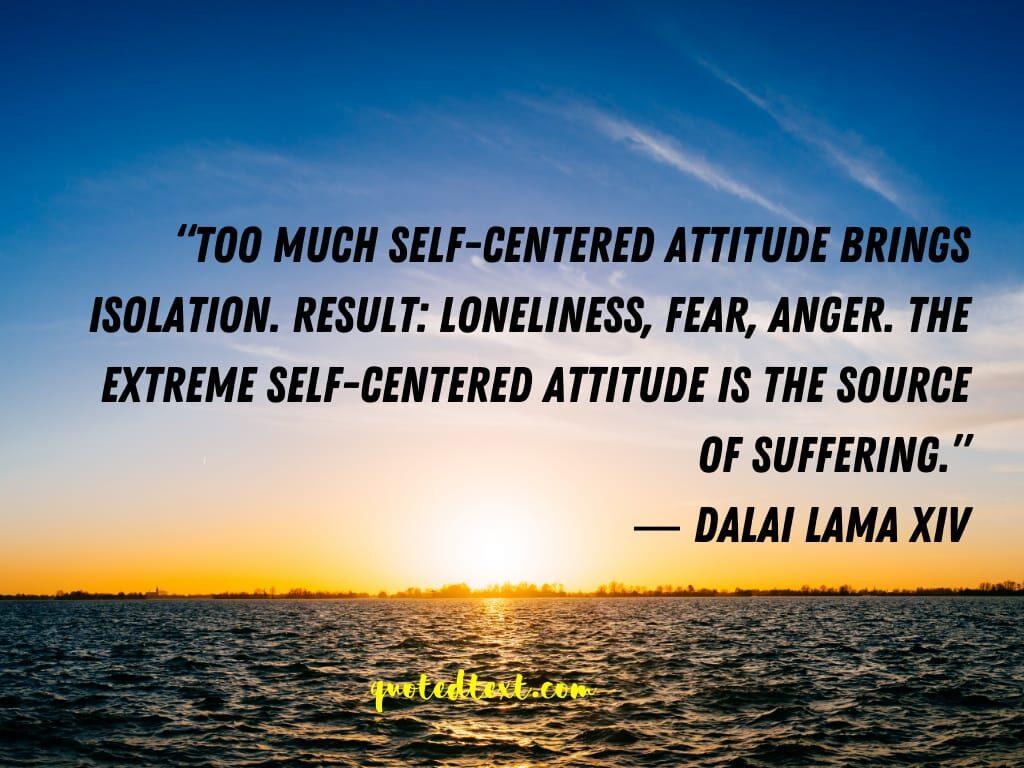 loneliness dalai lama quotes