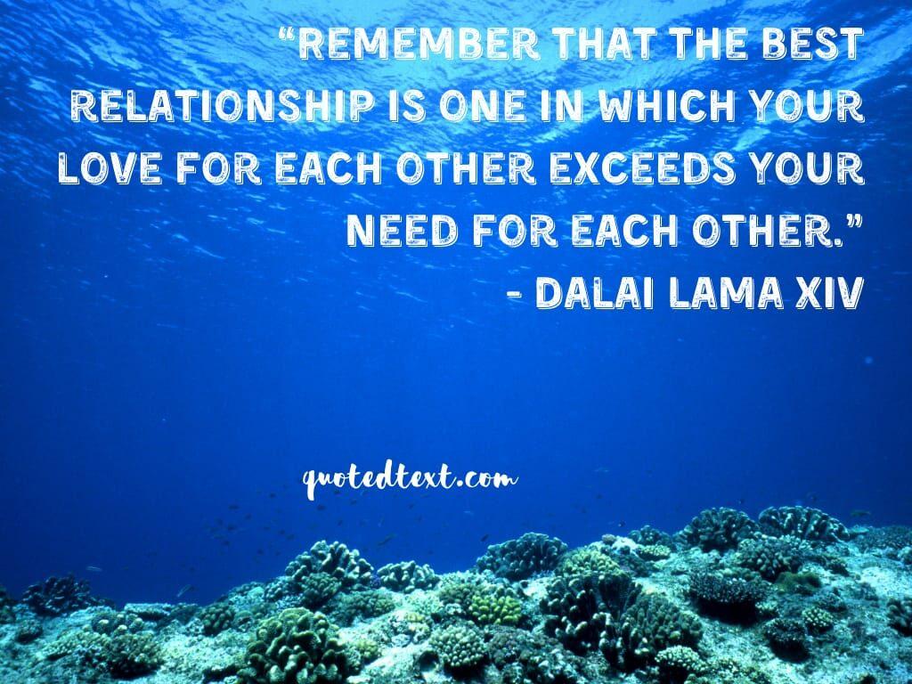 dalai lama quotes on relation