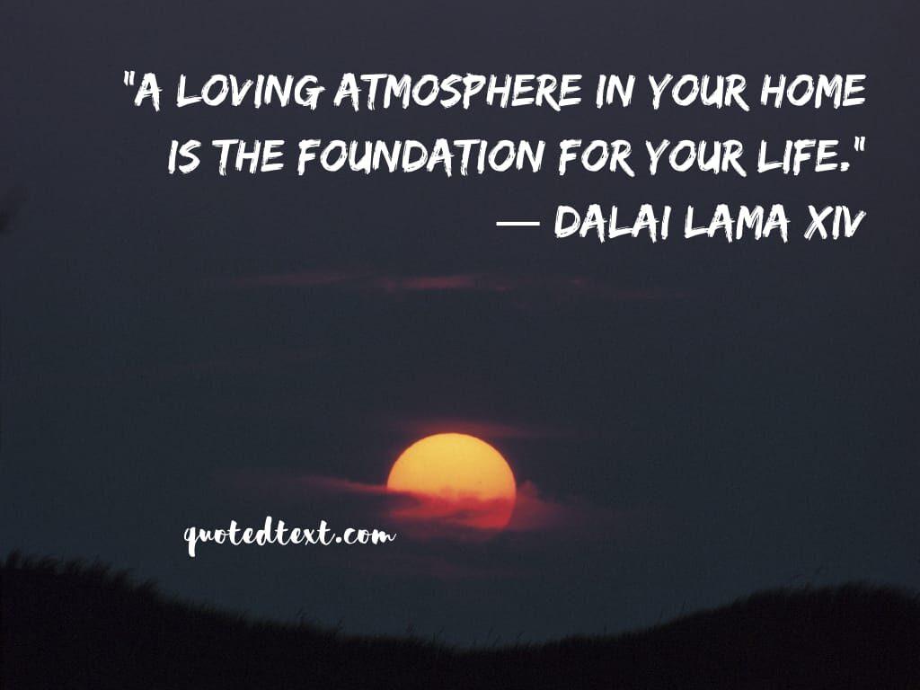 loving atmosphere quotes