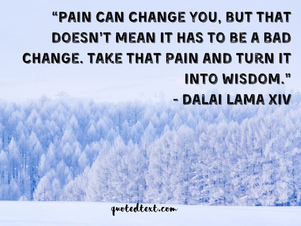 dalai lama painful quotes