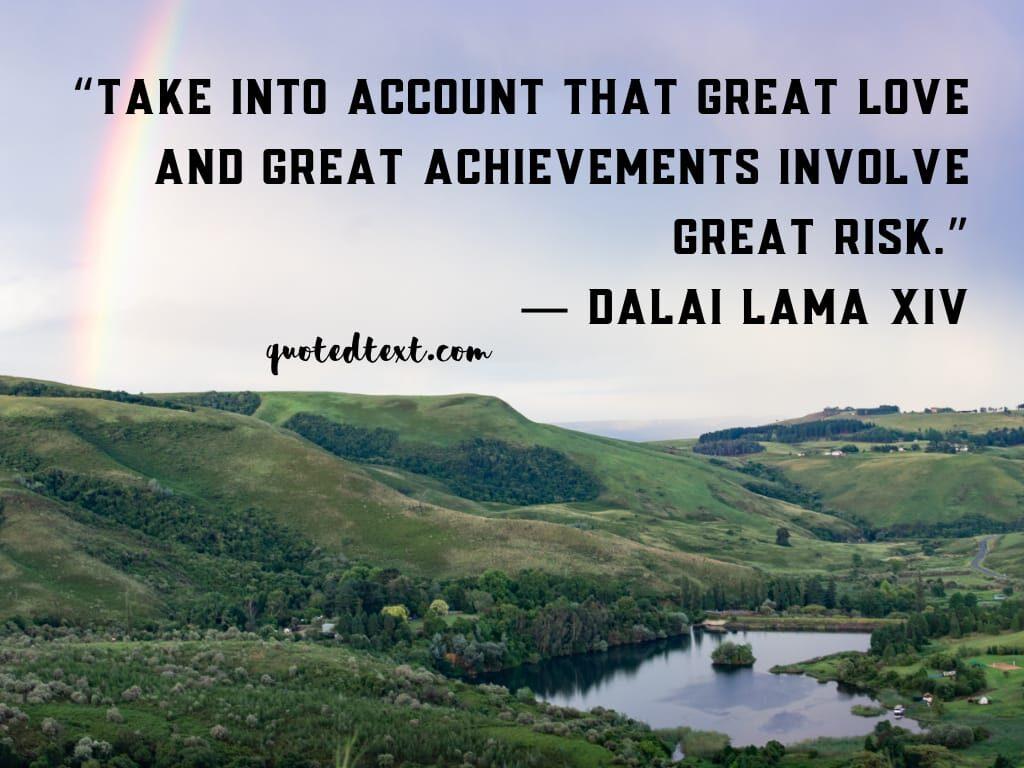 dalai lama quotes on risk