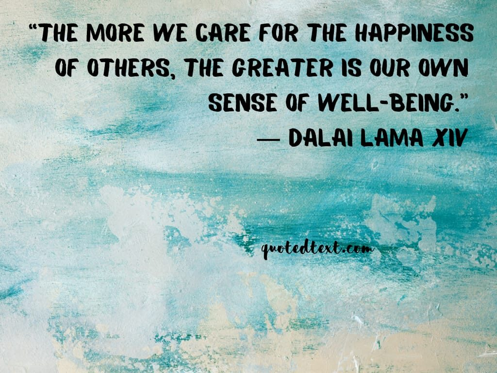 care and happiness quotes
