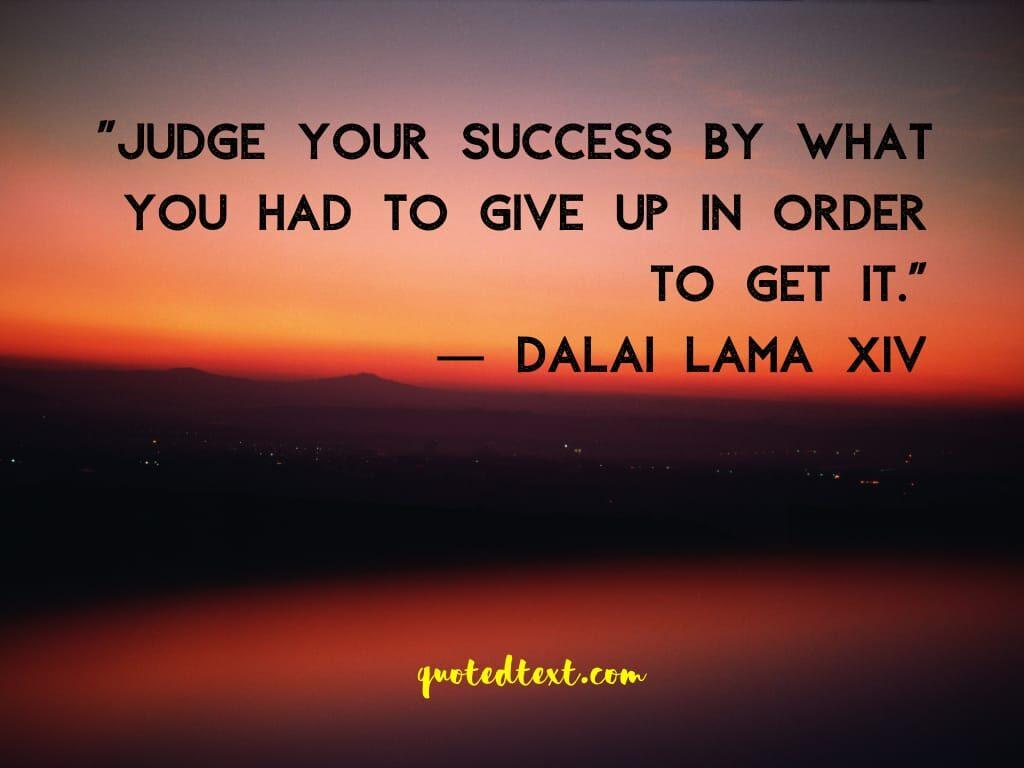 dalai lama success quotes