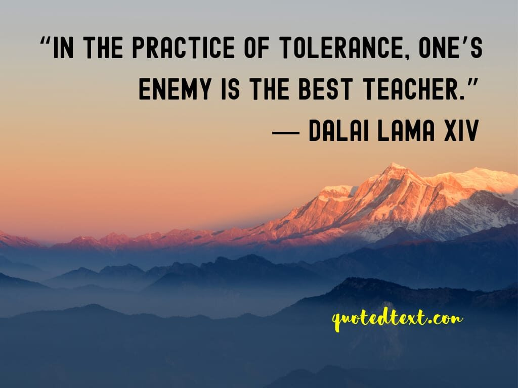 quotes on tolerance