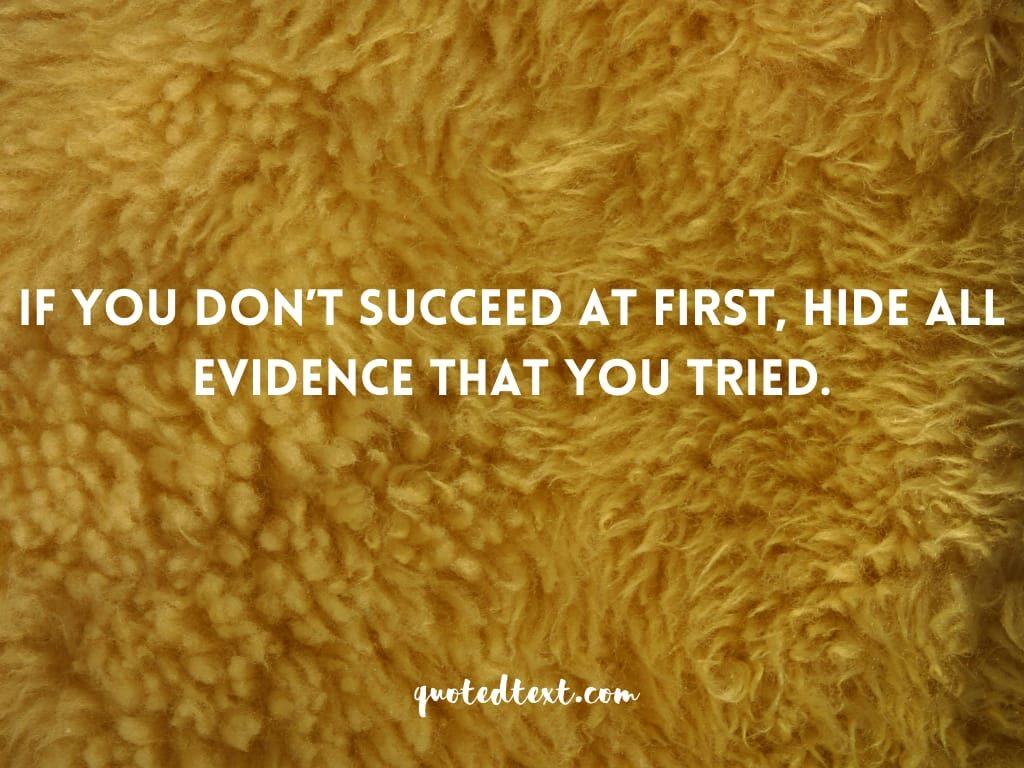funny status on success