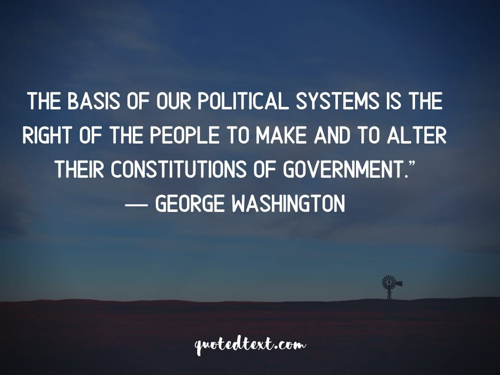 quotes on government and policical systems