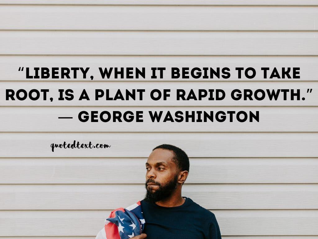 grorge washington quotes on liberty