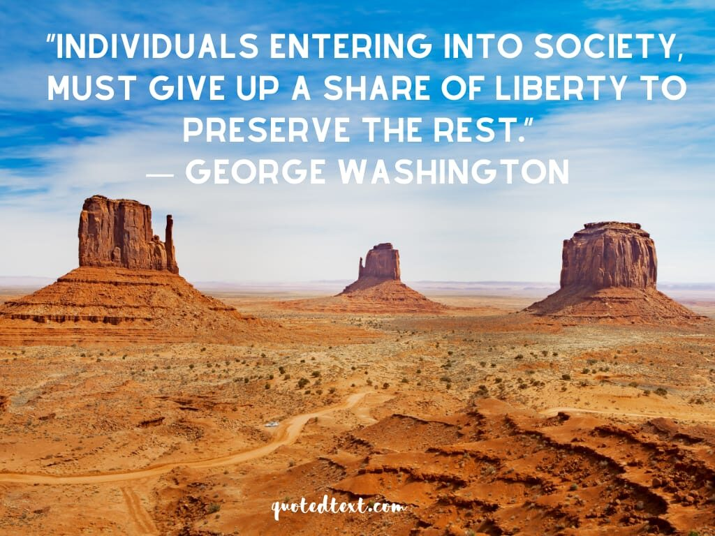 society quotes by george washington