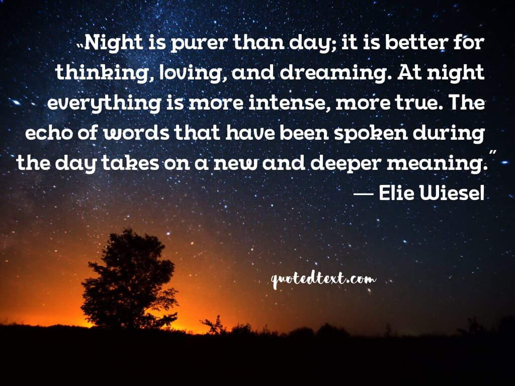 pure night quotes