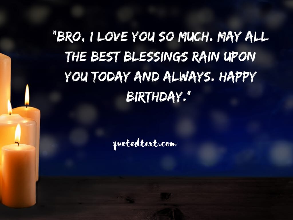 birthday wishes for bro
