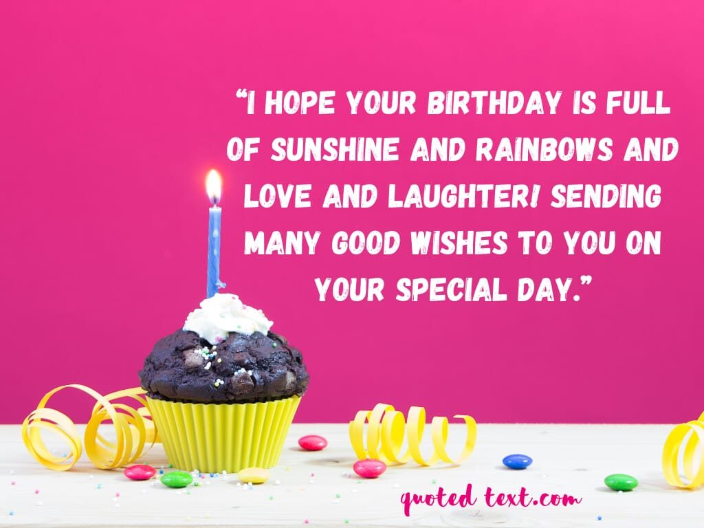 best birthday messages for special one
