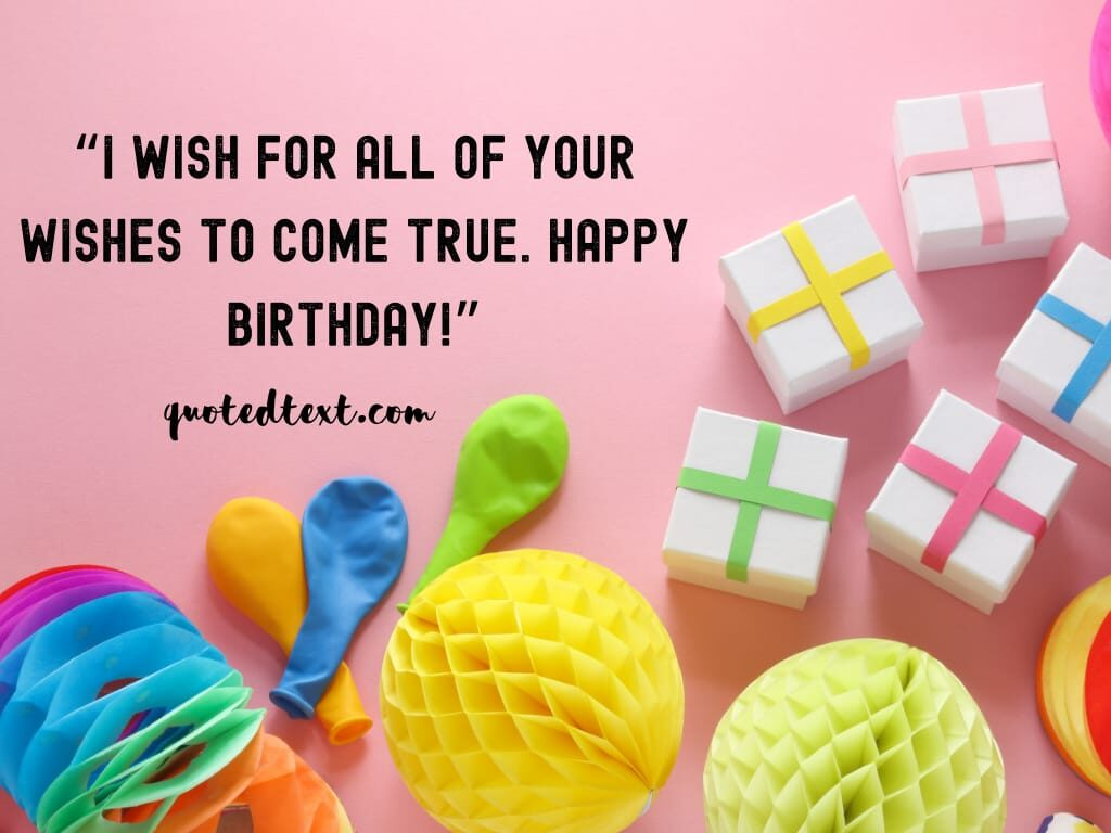 true birthday wishes