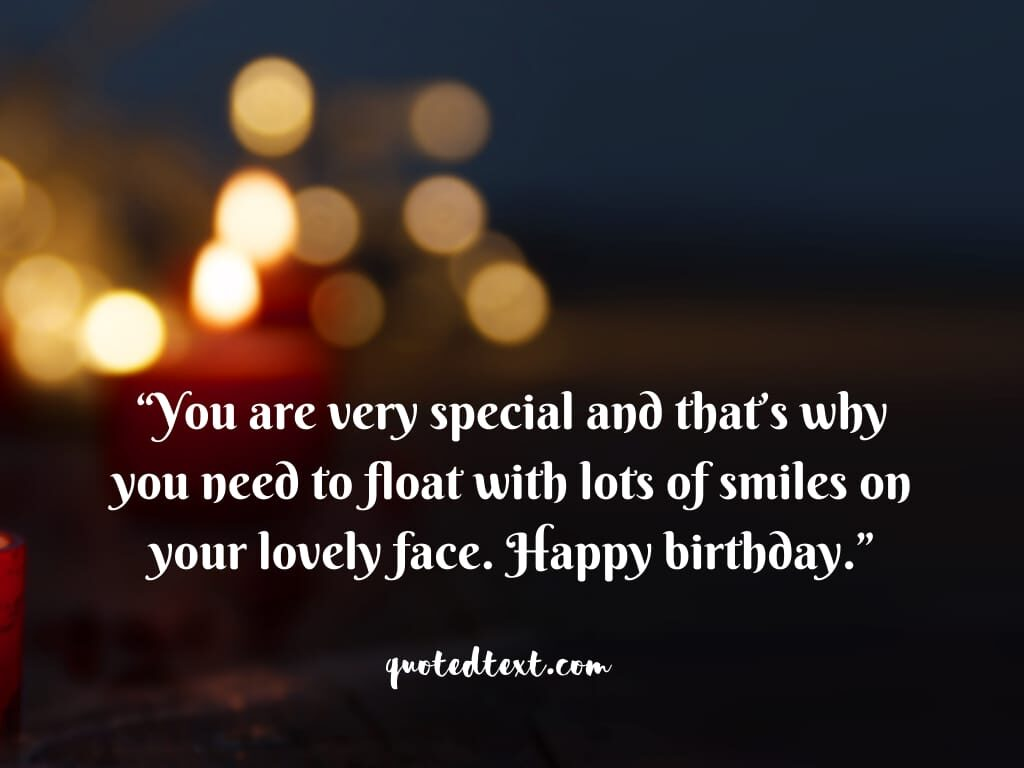 birthday wishes to make feel special