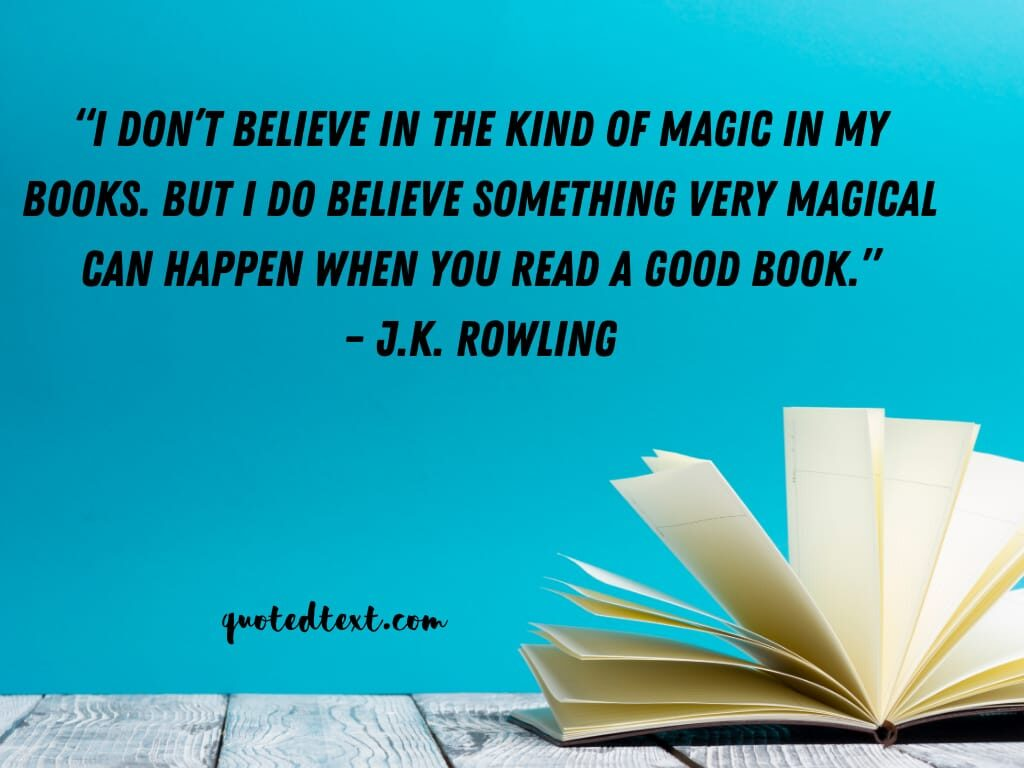 J.K Rowling quotes on believing