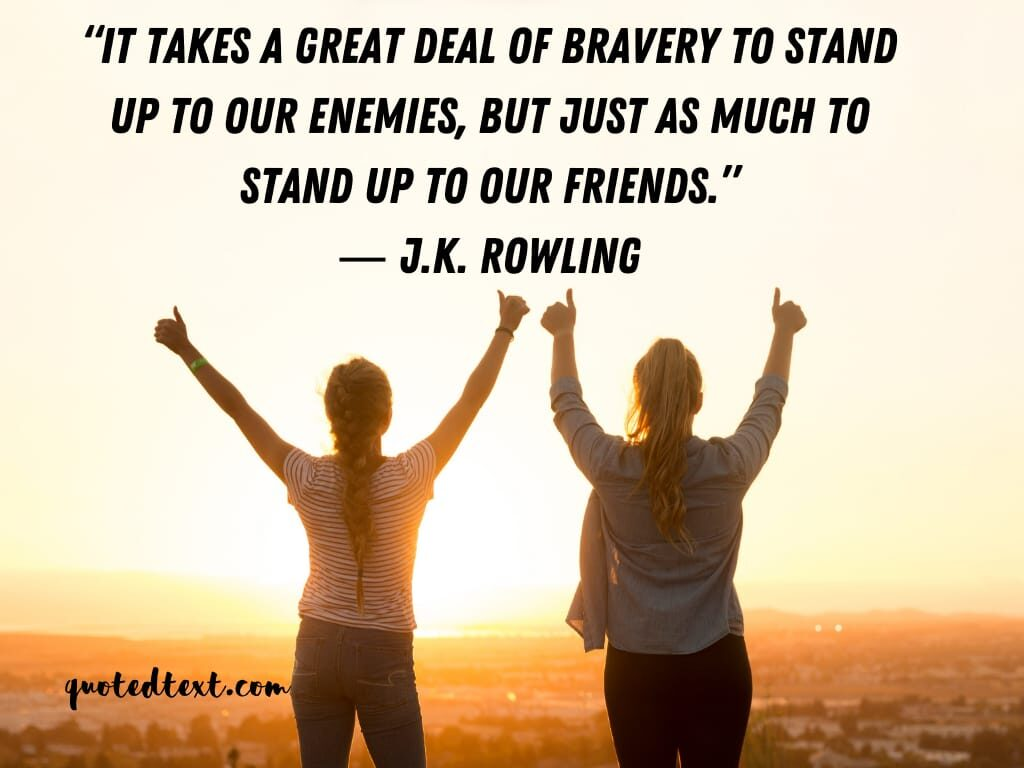 J.K Rowling quotes on friends