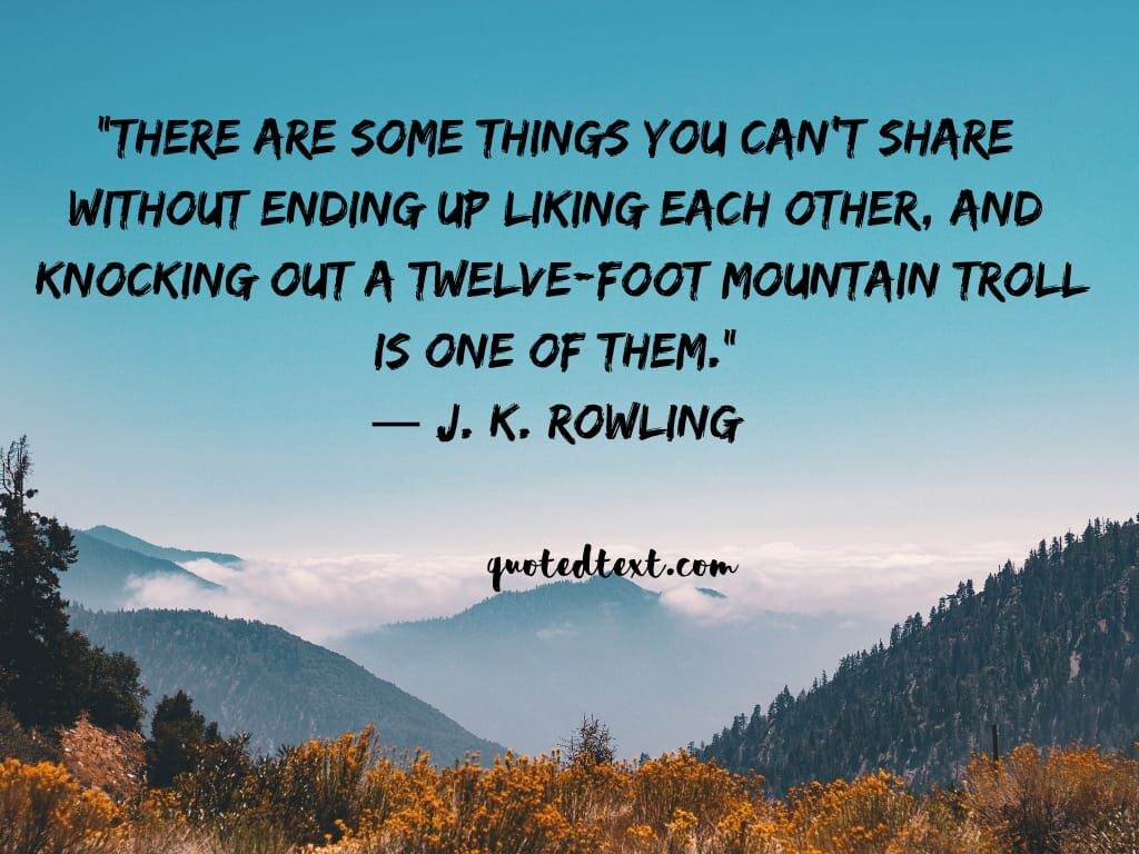J.K Rowling friends quotes