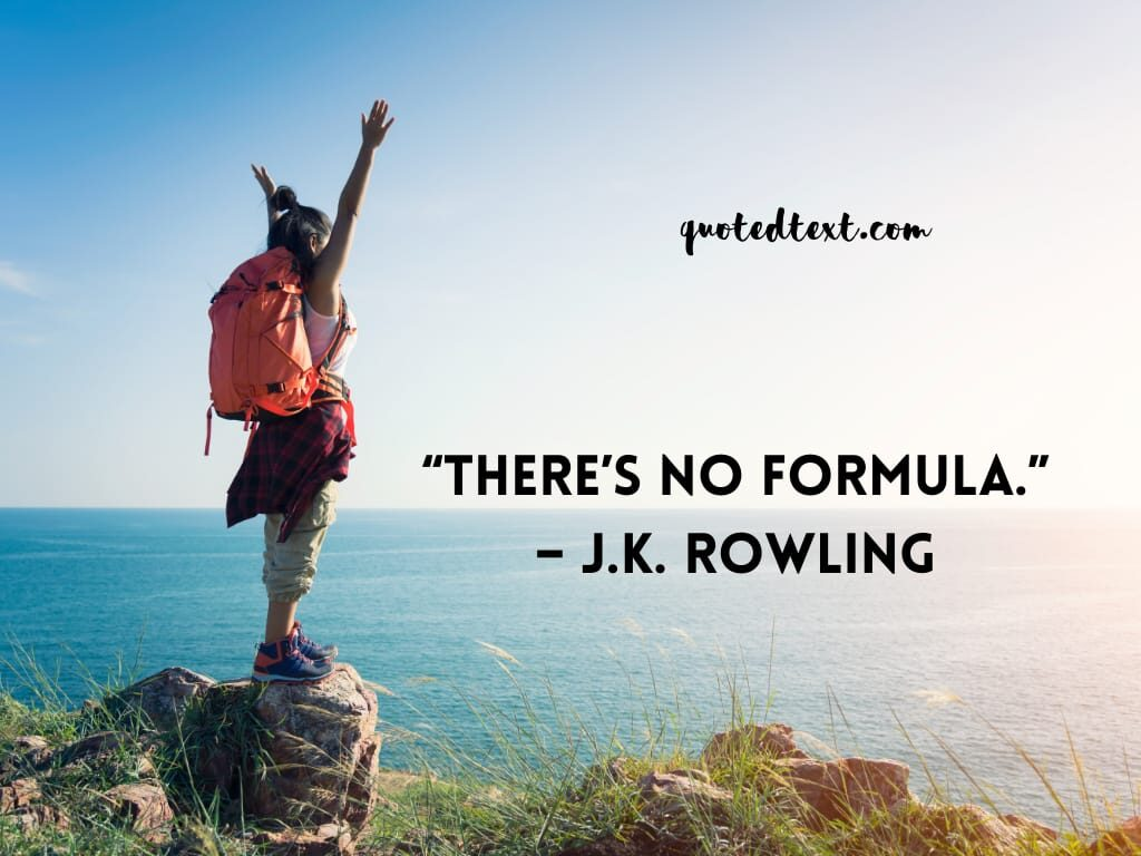 J.K Rowling quotes on hard work