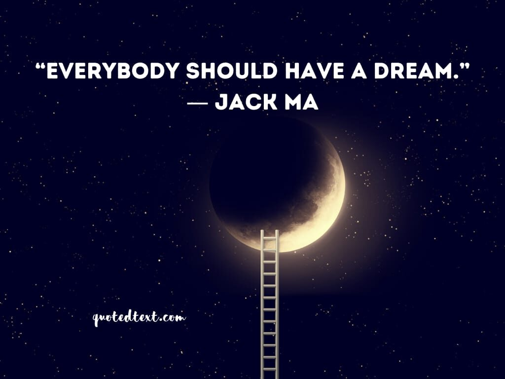 jack ma quotes on dreams