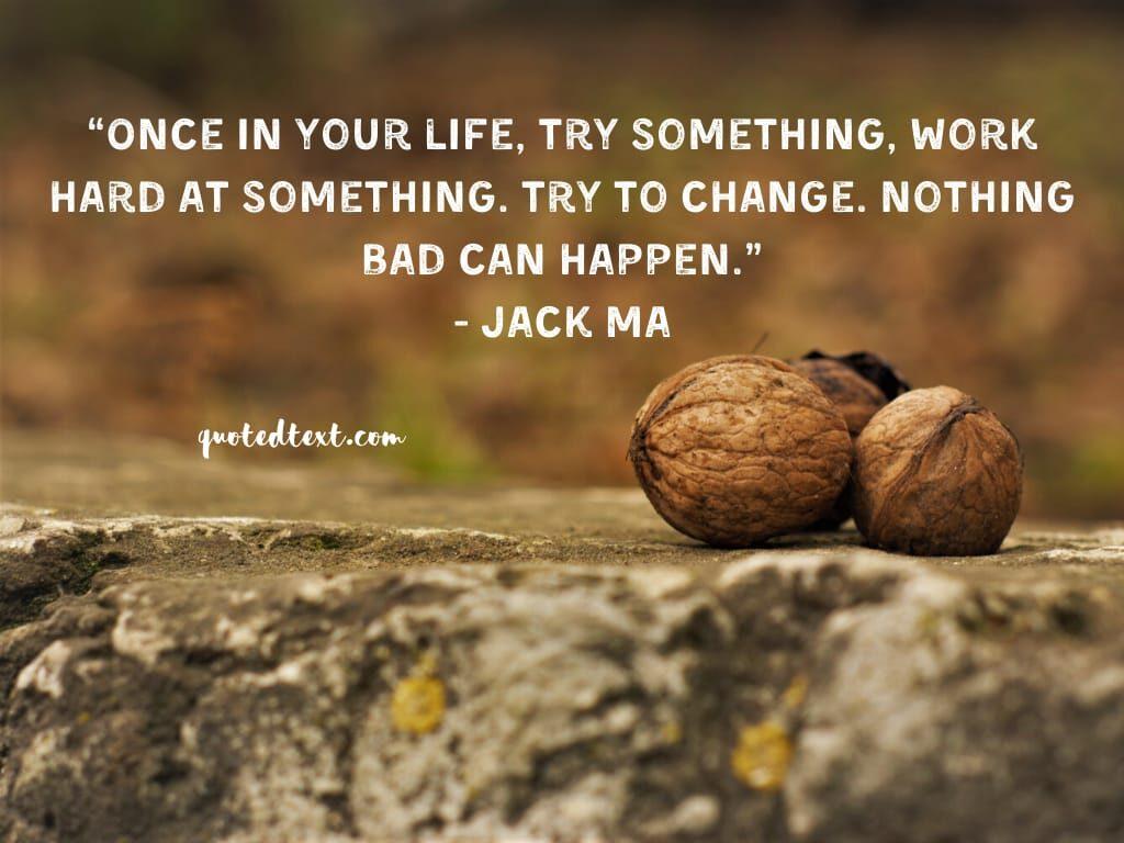 jack ma quotes on hardwork