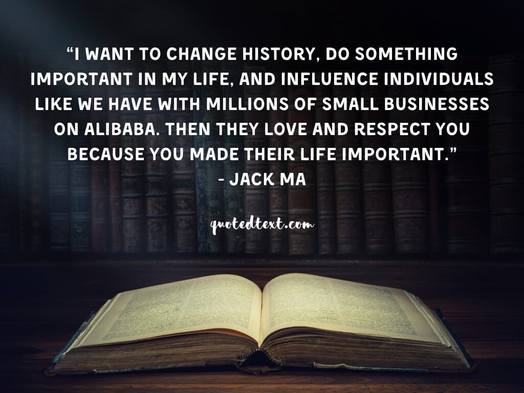 jack ma quotes on life importance