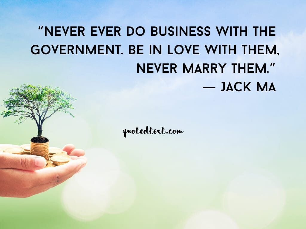 jack ma quotes on government