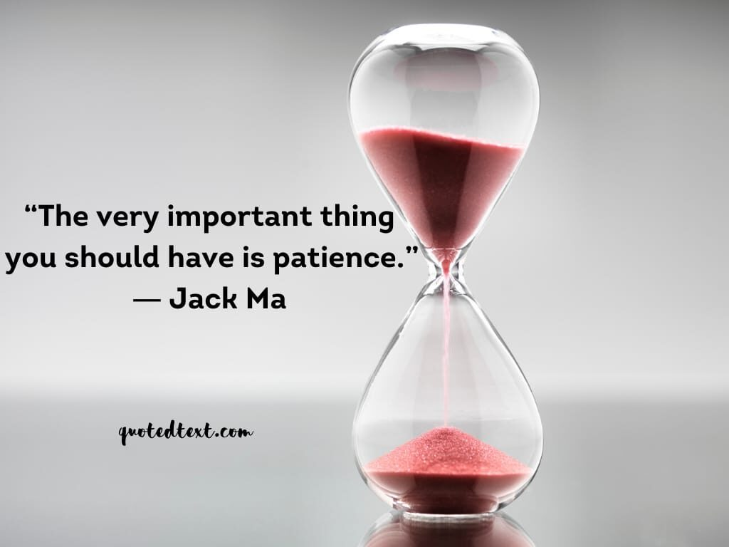 jack ma quotes on patience