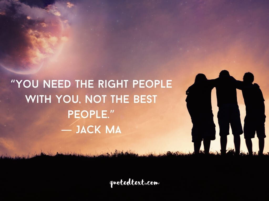 jack ma quotes on people