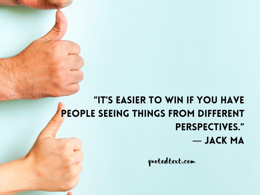 jack ma quotes on winning