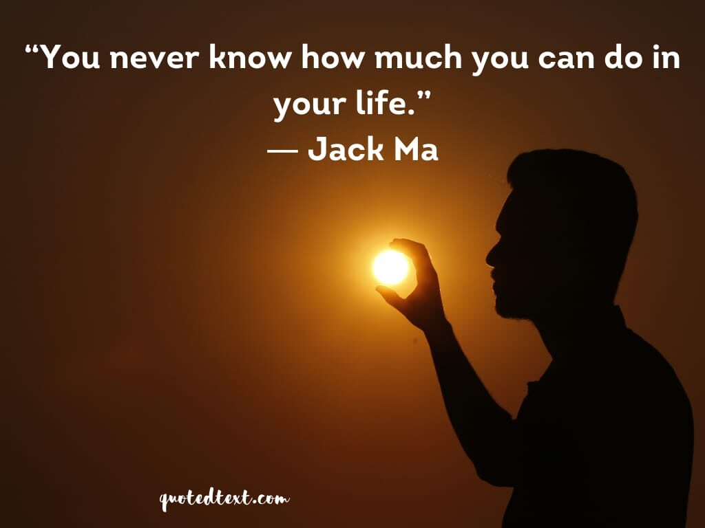 jack ma quotes on self believe