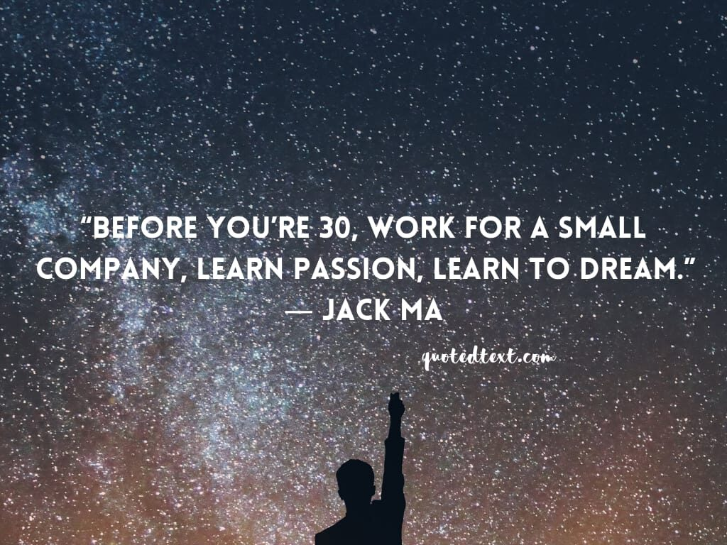 jack ma quotes on passion