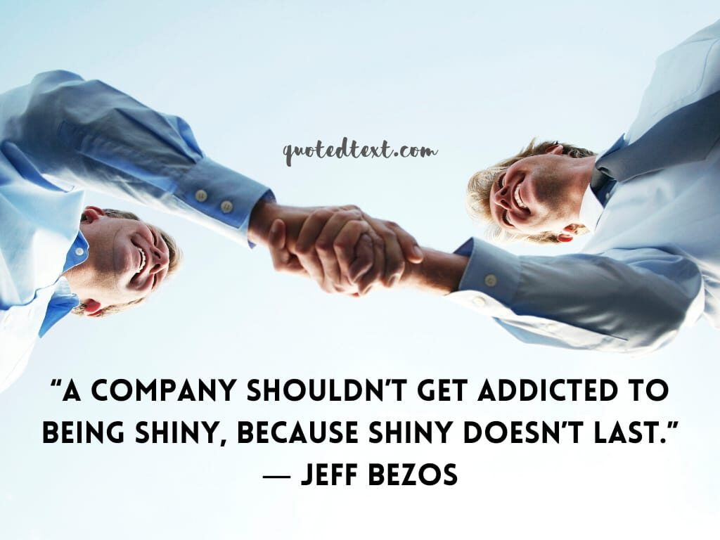 jeff bezos quotes on company