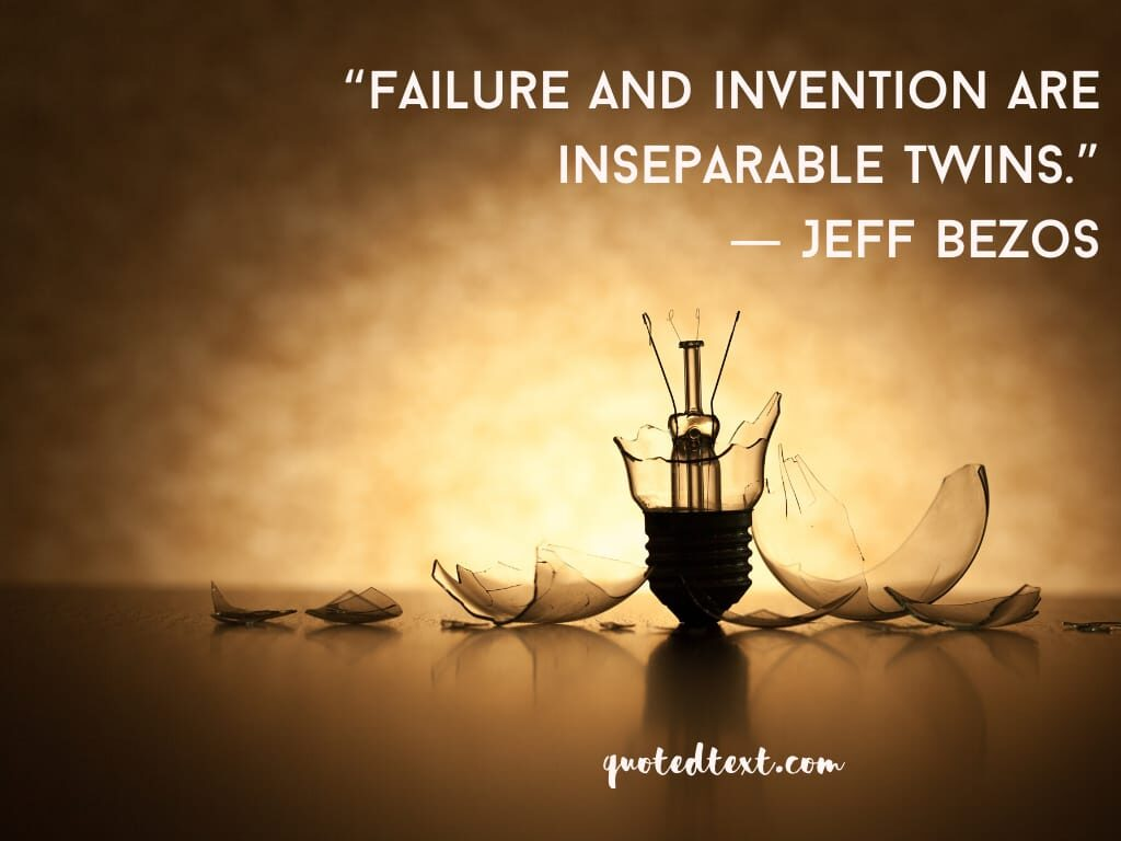 failure quotes by jeff bezos