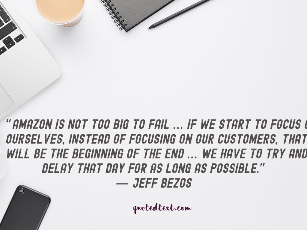 jeff bezos quotes about amazon