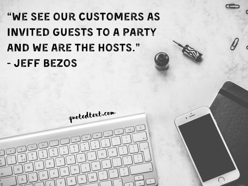 jeff bezos quotes on amazon customers