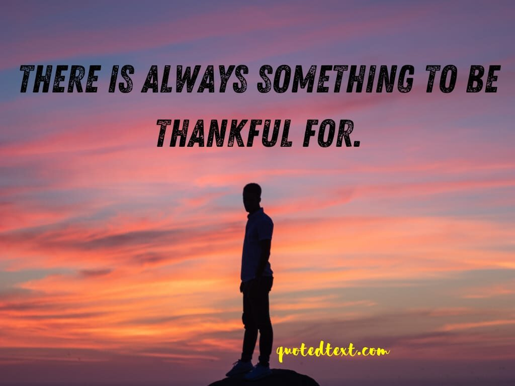thankful life status