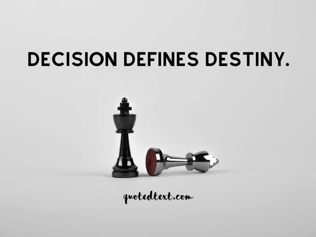 decisions life status