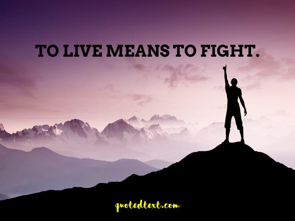 life status on fight