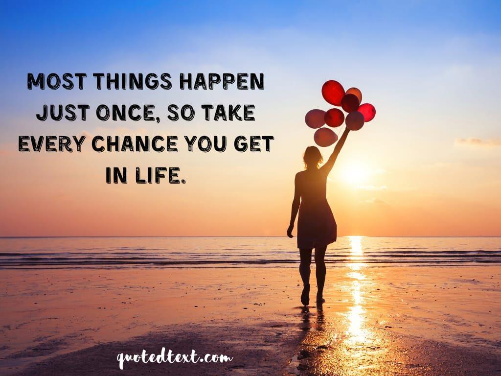 take chance status