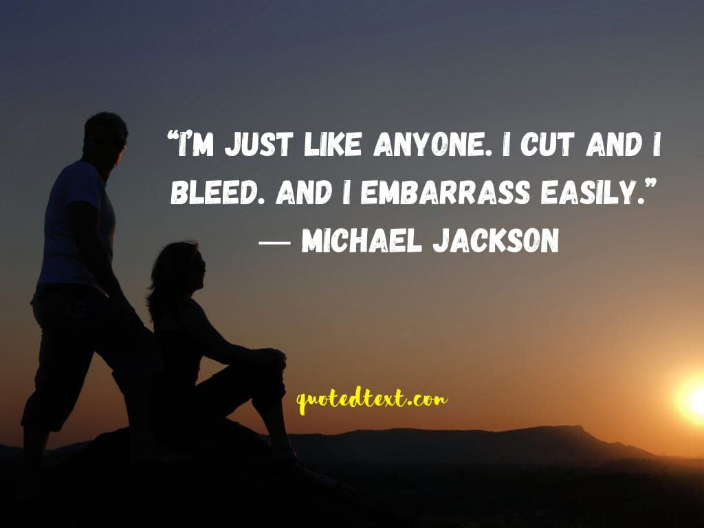 michael jackson sad quotes