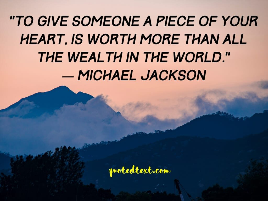 heart quotes by michael jackson