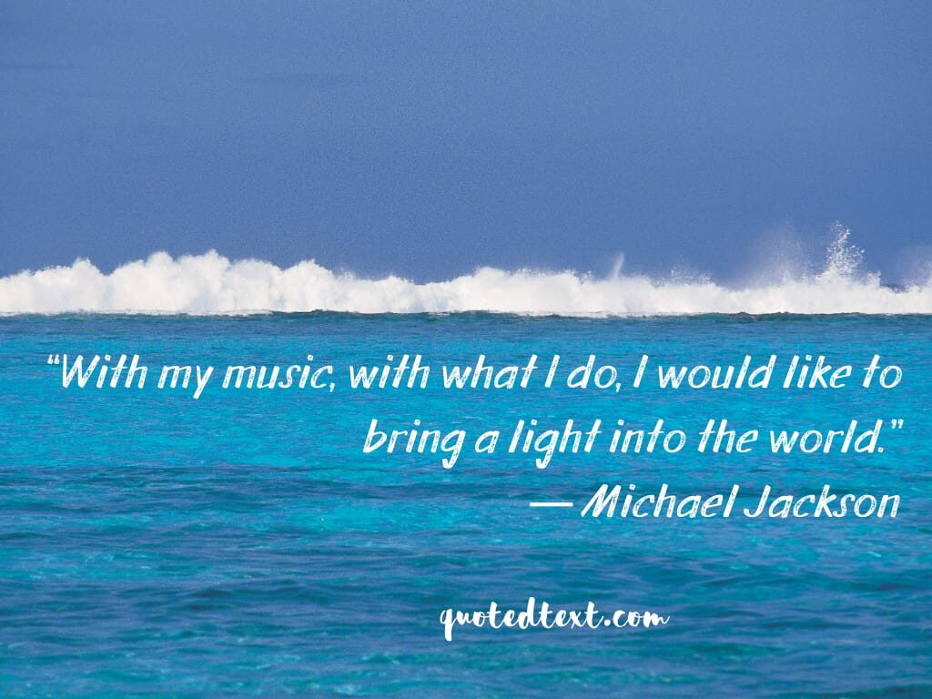 music quotes by michael jackson