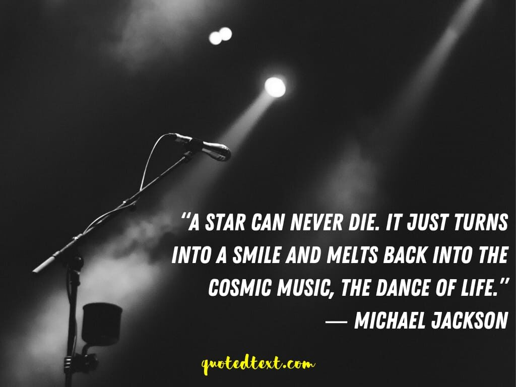 michael jackson quotes on music and dance