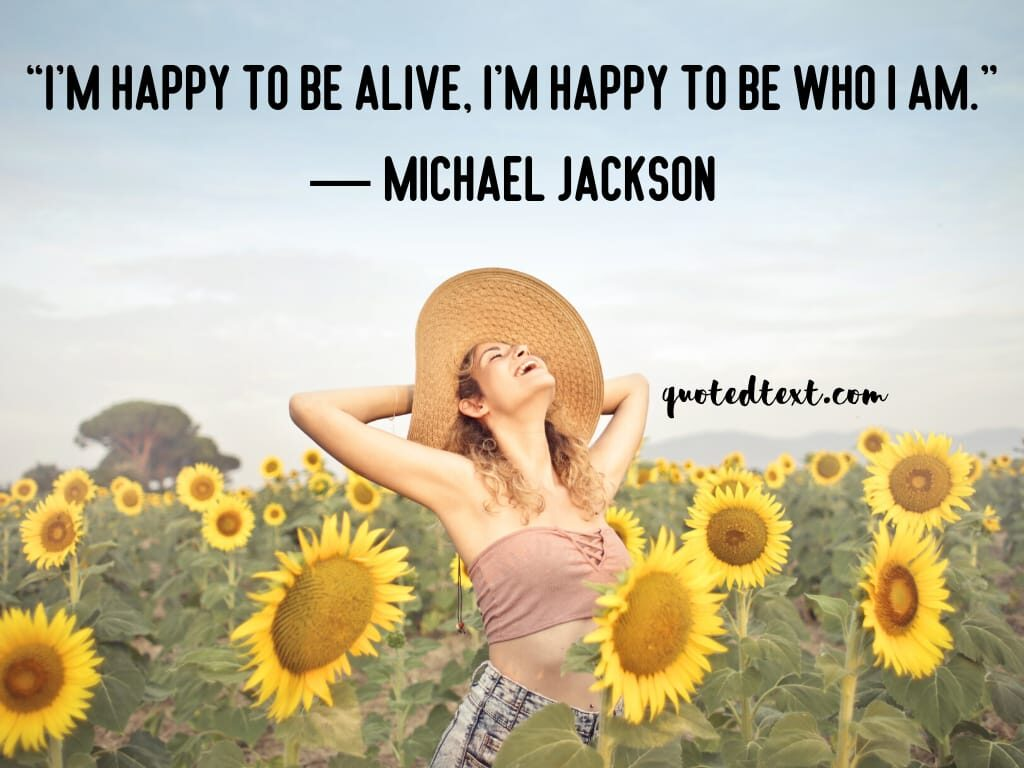 michael jackson on be happy
