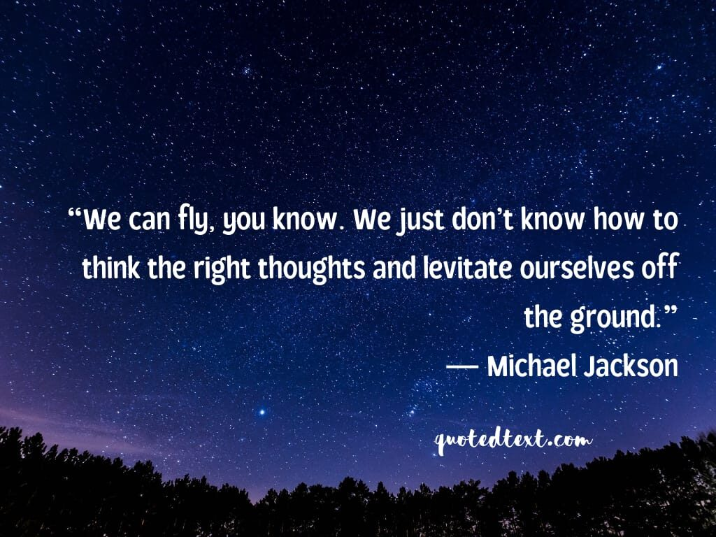 inspiration michael jackson quotes
